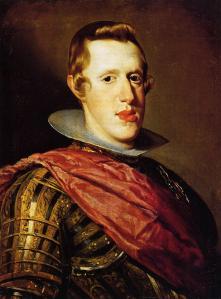 Felipe IV, por Velázquez