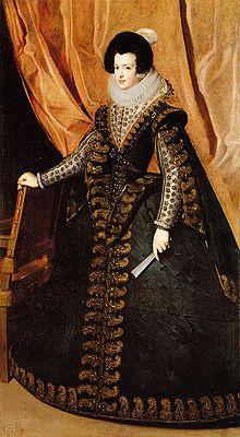 Isabel de Borbón, por Velázquez