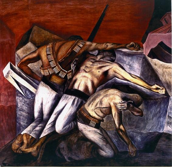 """José Clemente Orozco, """"La trinchera"""""""