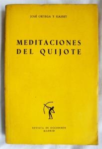 Meditaciones del Quijote, de Ortega y Gasset