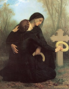 El Día de Difuntos, de William-Adolphe Bouguereau