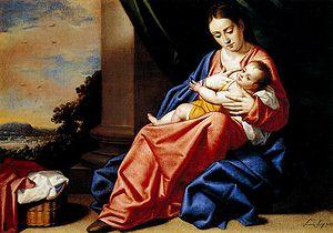 Virgen con el Niño Jesús, de Antonio Arias