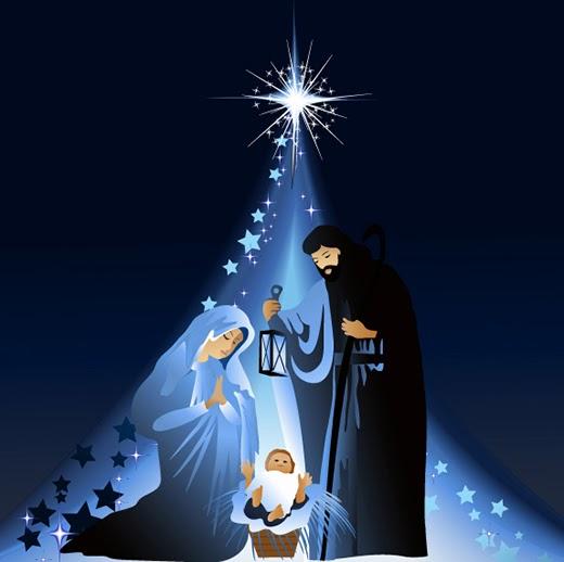 Resultado de imagen de Feliz navidad con el belen