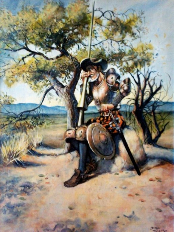 Un Quijote, de Diego Vasquez