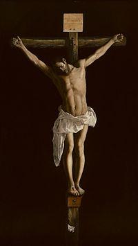 Cristo en la Cruz, de Zurbarán