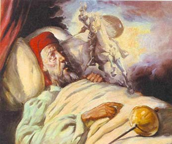 Muerte de Alonso Quijano el Bueno