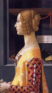 Retrato de Giovanna Tornabuoni, de Domenico Ghirlandaio