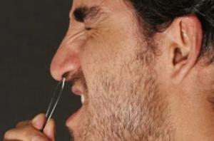 Pelos de la nariz