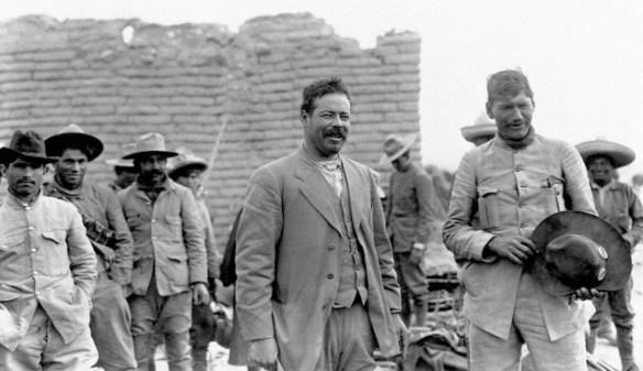 Pancho Villa y Pánfilo Natera