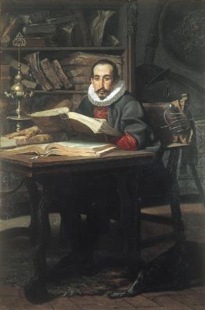 Cervantes, por Manuel Wssel de Guimbarda