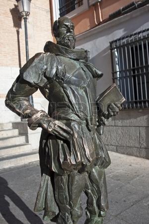 Estatua de Cervantes en Toledo