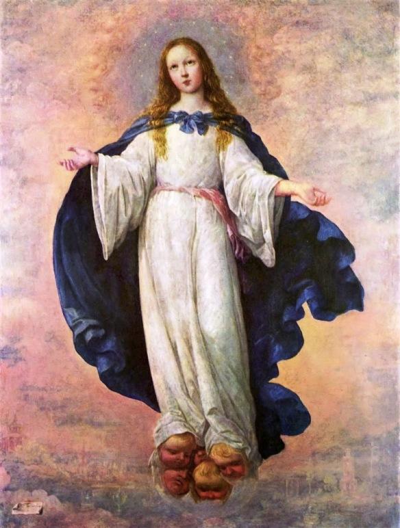 Inmaculada Concepción de Zurbarán (Budapest)