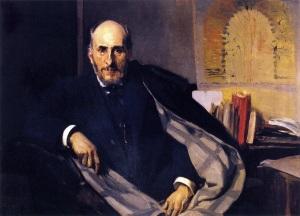 Retrato de Ramón y Cajal, por Joaquín Sorolla