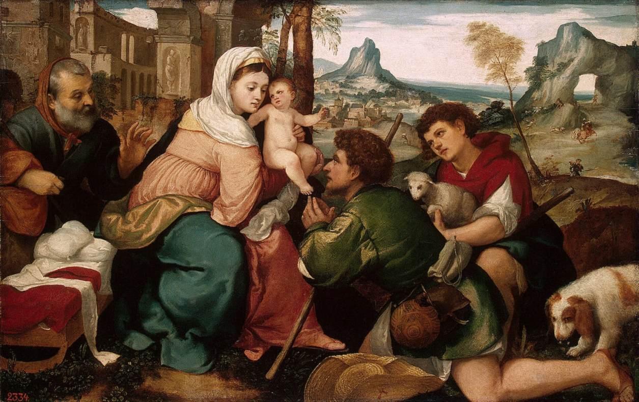 Al Nacimiento de Jesús», villancico de Santa Teresa   Ínsula Barañaria