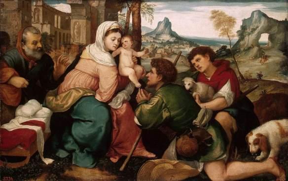 Adoración, Bonifacio Veronese