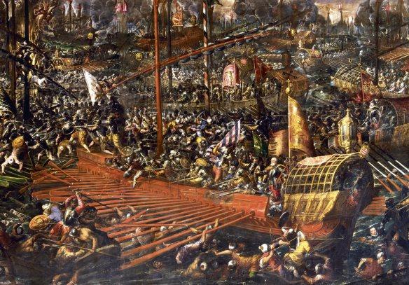 Batalla de Lepanto, AndreaVicentino