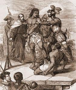 La muerte de Caupolicán