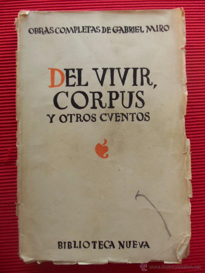 Corpus y otros cuentos, de Gabriel Miró