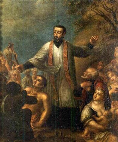 Ignacio-Valdés-y-Albarca-San-Francisco-Javier-Predicando-a-los-Indios