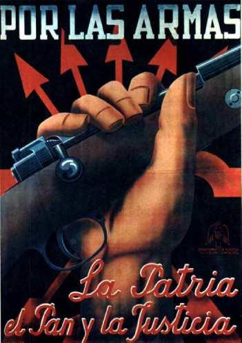 Cartel de Falange Española