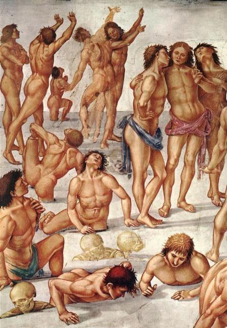 La Resurrección de la Carne, por Luca Signorelli.