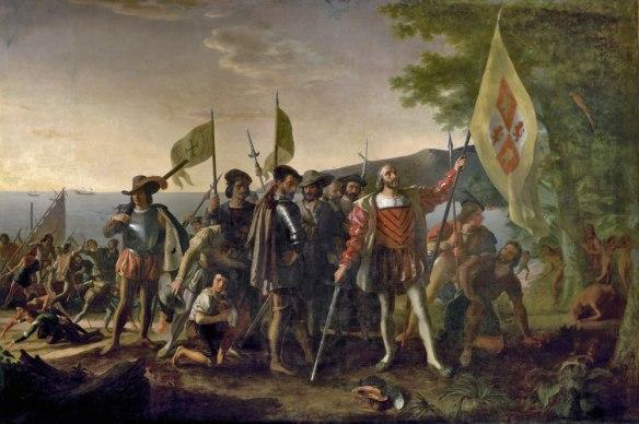 Colón en La Española
