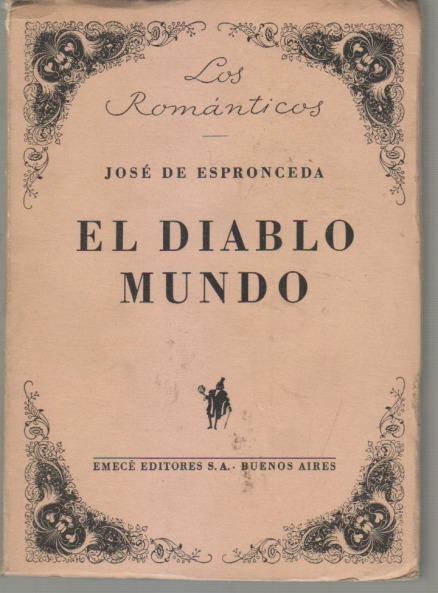 El diablo mundo, de José de Espronceda