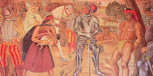 Muerte de Caupolicán