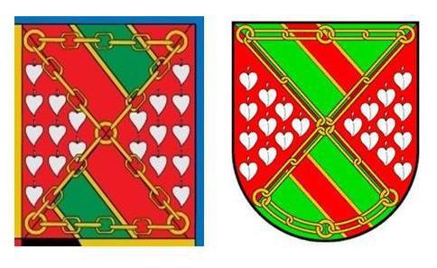 Escudos de los Hurtado de Mendoza