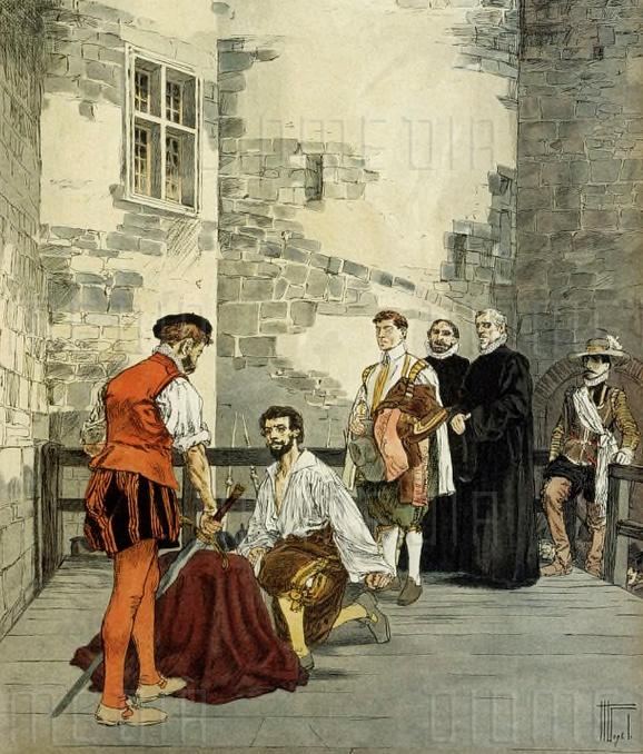 Ejecución del mariscal de Biron