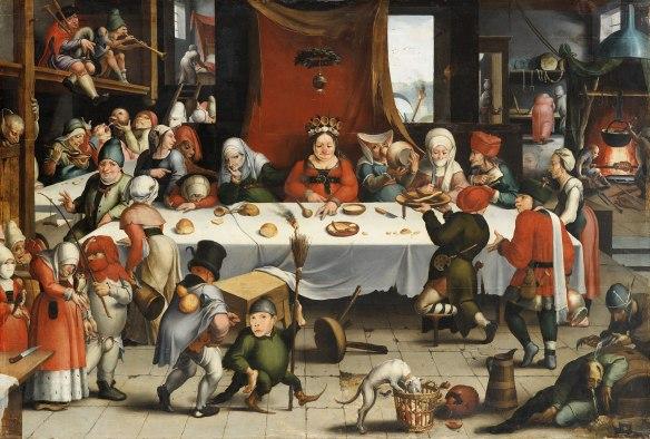 Festín burlesco, de Jan Mandijn