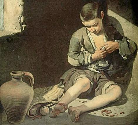 El joven mendigo, de Murillo