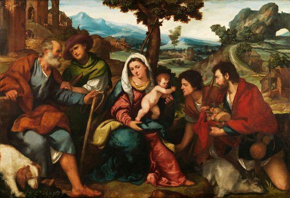 Adoración_de_los_pastores_Bonifazio_Veronese