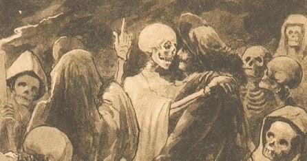 Don Félix y el esqueleto
