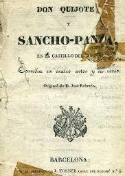 Don Quijote y Sancho Panza en el castillo del duque, de José Robreño