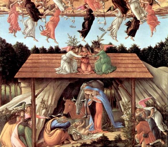 Natividad, de Sandro Boticelli