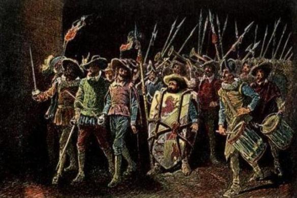 Sancho Panza defiende la Ínsula Barataria