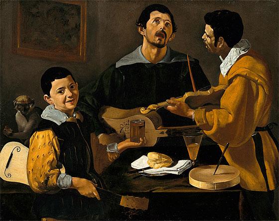 Velazquez, Tres músicos