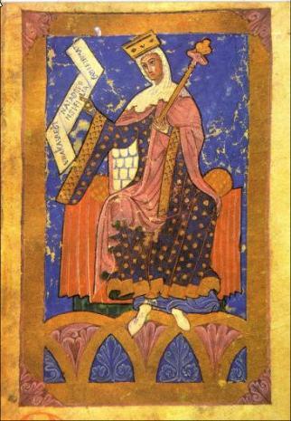 La reina Urraca I de León