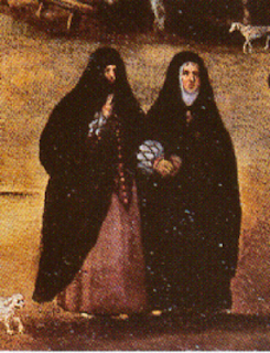 Tapadas en San Jerónimo