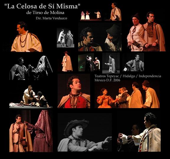 La celosa de sí misma, de Tirso de Molina