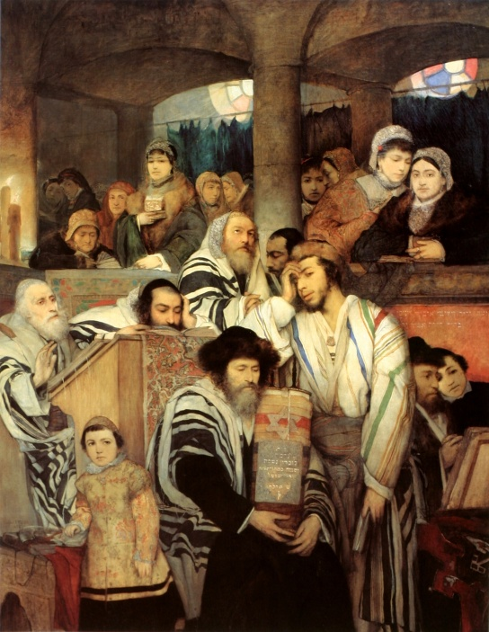 Maurycy_Gottlieb_-_Jews_Praying_in_the_Synagogue_on_Yom_Kippur