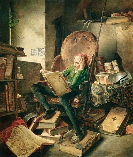 don-quijote-leyendo-libros-de-caballerias