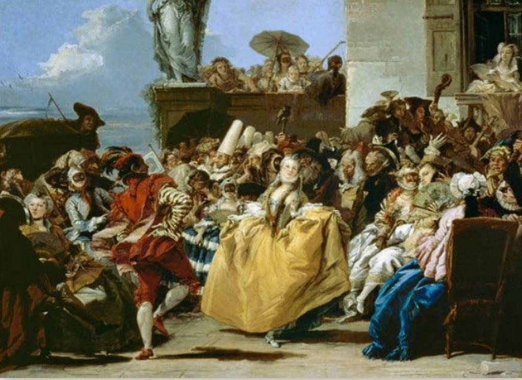 El minuet o Escena de Carnaval, de Giovanni Domenico Tiepolo