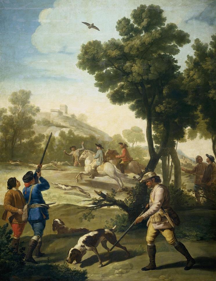 Partida de caza, de Francisco de Goya