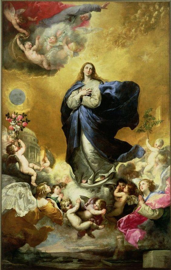 José de Ribera, Inmaculada Concepción (Palacio de Monterrey, Salamanca)