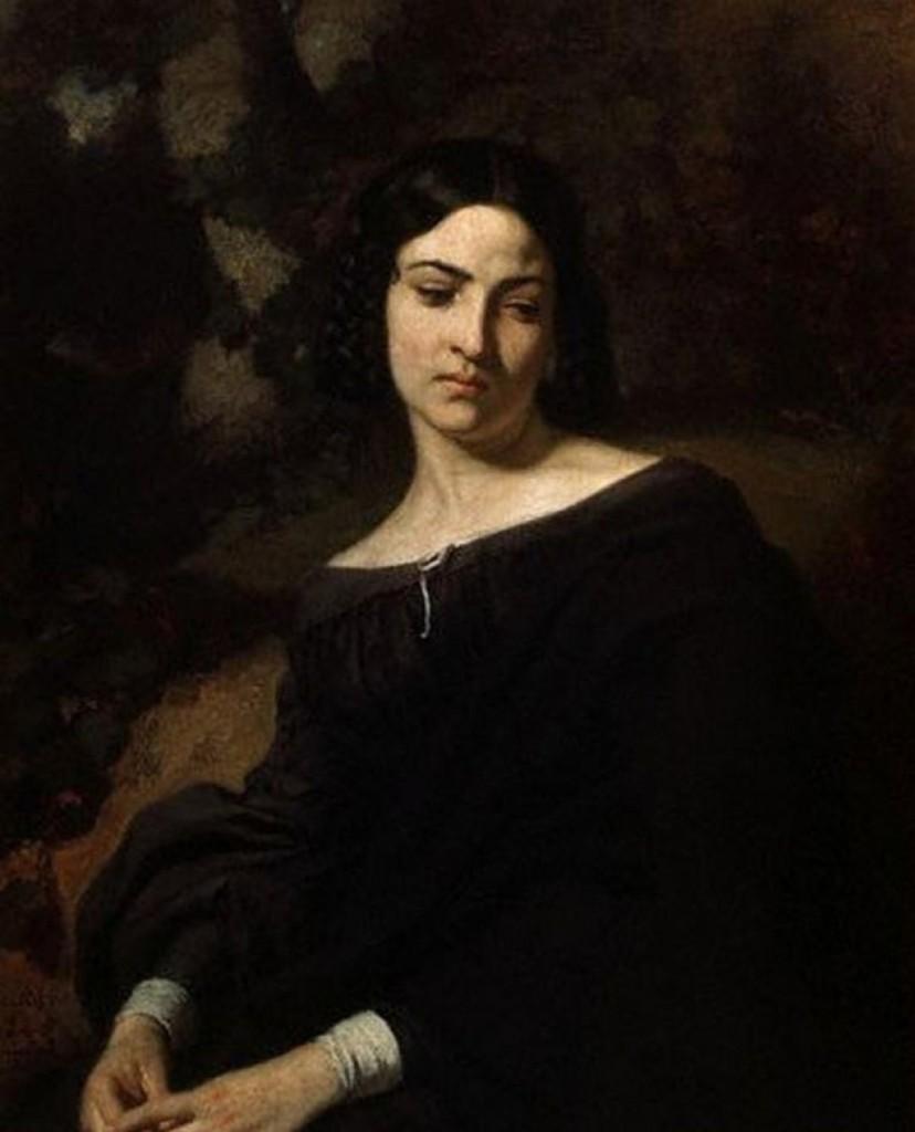Una viuda, de Thomas Couture