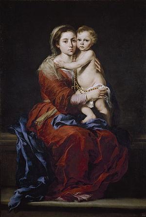 Virgen del Rosario, de Bartolomé Esteban Murillo