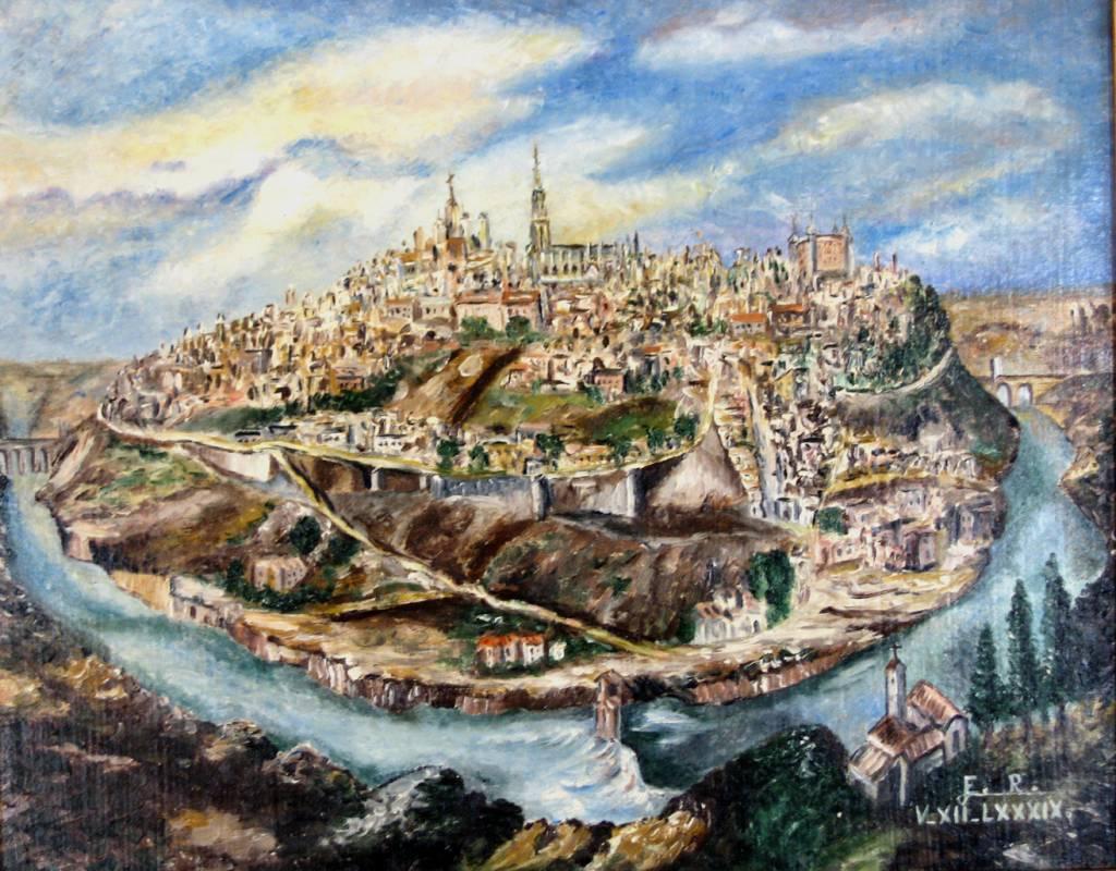 Vista de Toledo, por Eduardo Rosado Marcos