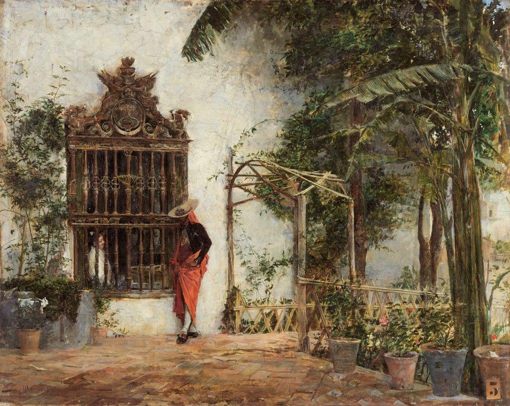 Cortejo ante la verja (Museo Carmen Thyssen Málaga)